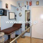 Ορθοπεδικό Εργαστήριο Manel Αίθουσα εξέτασης και λήψης μέτρων