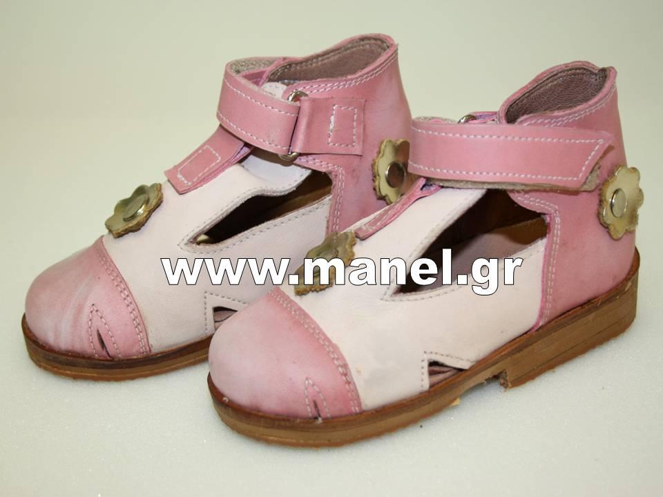 Παιδικά ημιανάστροφα υποδήματα - παπούτσια ειδικής κατασκευής με τακούνι Τομας