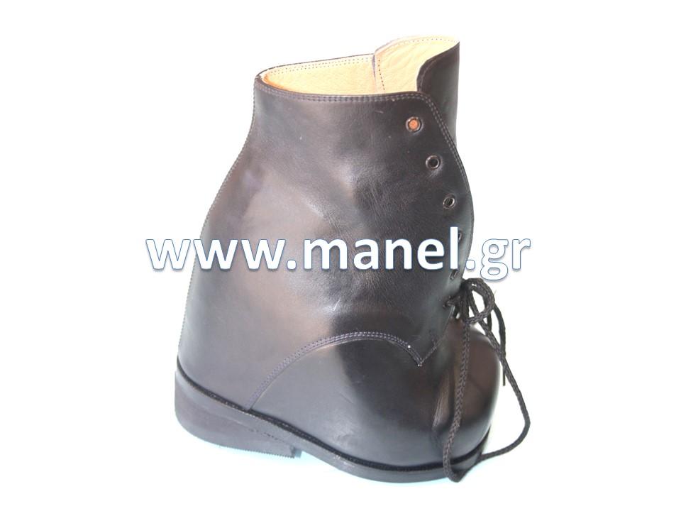 Ορθοπεδικά παπούτσια - υποδήματα ειδικής κατασκευής για ιπποποδία